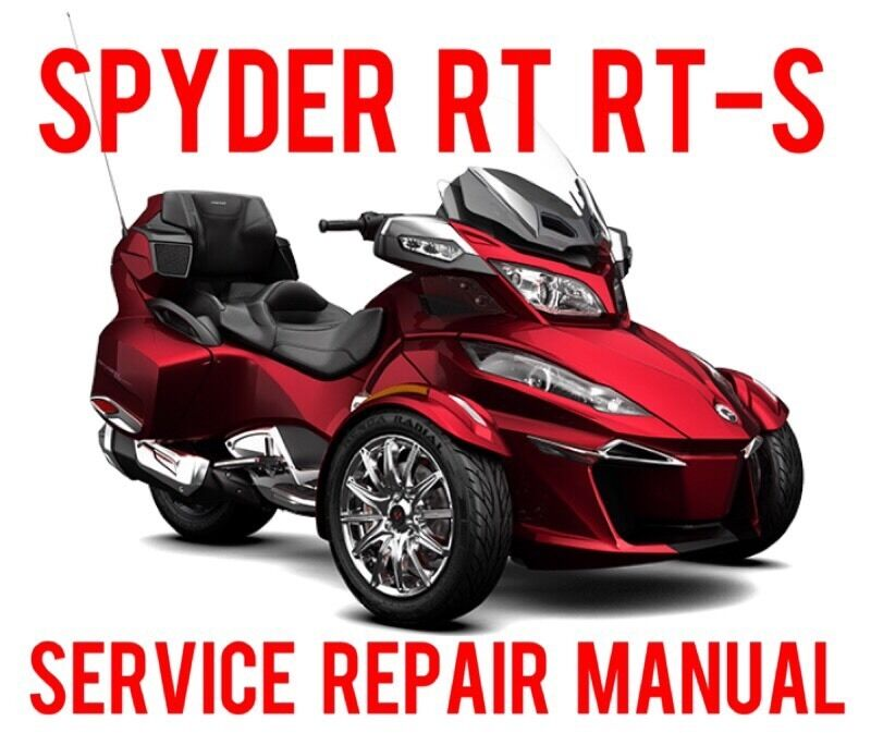 2015 2016 can am spyder rt rt s rt limited special shop service rh picclick com 2009 can am spyder service manual can am spyder maintenance manual
