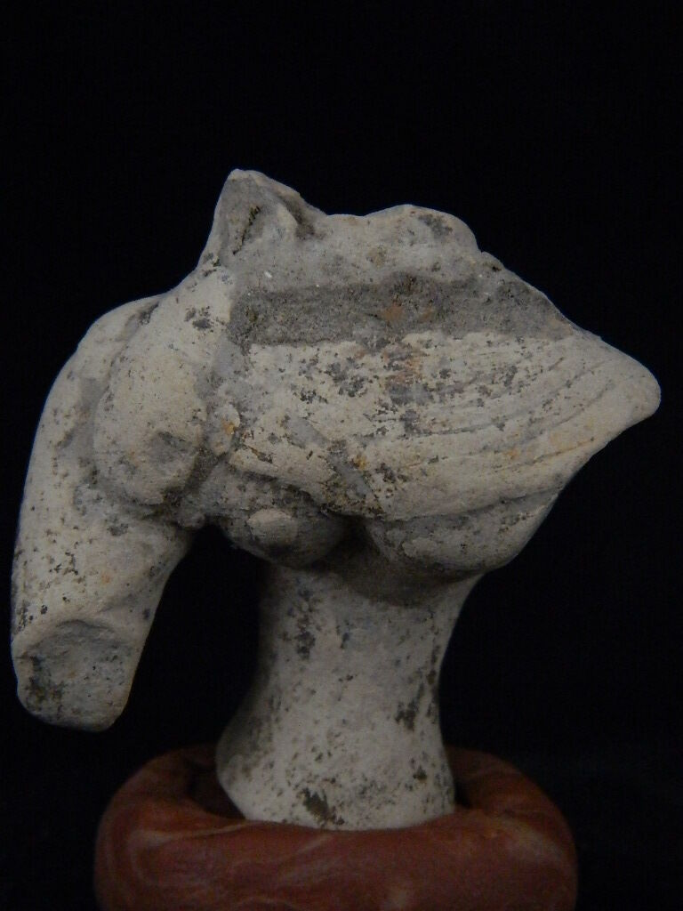 Ancient Teracotta Mother Goddess Torso Indus Valley 2000 BC   #TR15305
