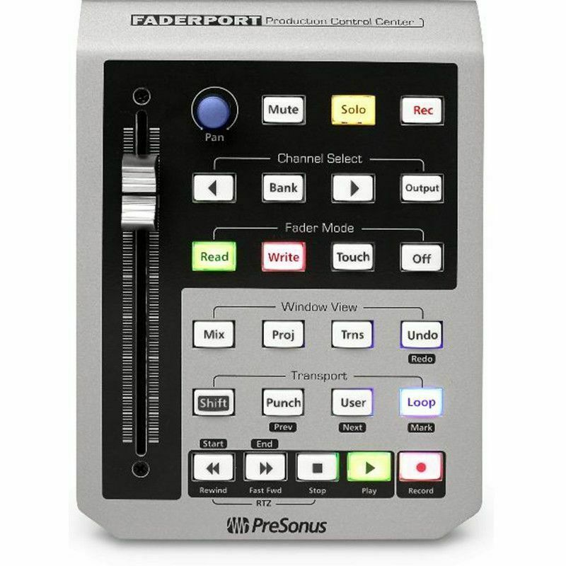 Presonus faderport motorized fader daw usb midi transport for Daw control surface motorized faders