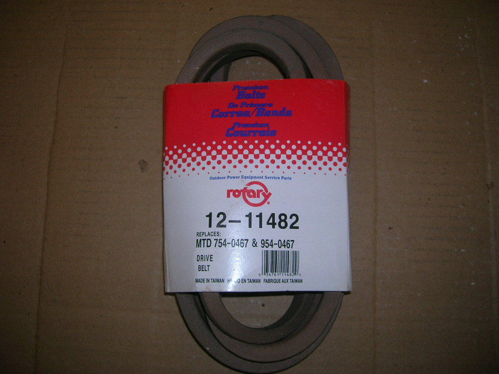 Mtd Drive Belt 954 0467 754 Rotary Part 12 11482 Direct Lawn Mower Diagram Car Tuning 1 Of 1only 2 Available