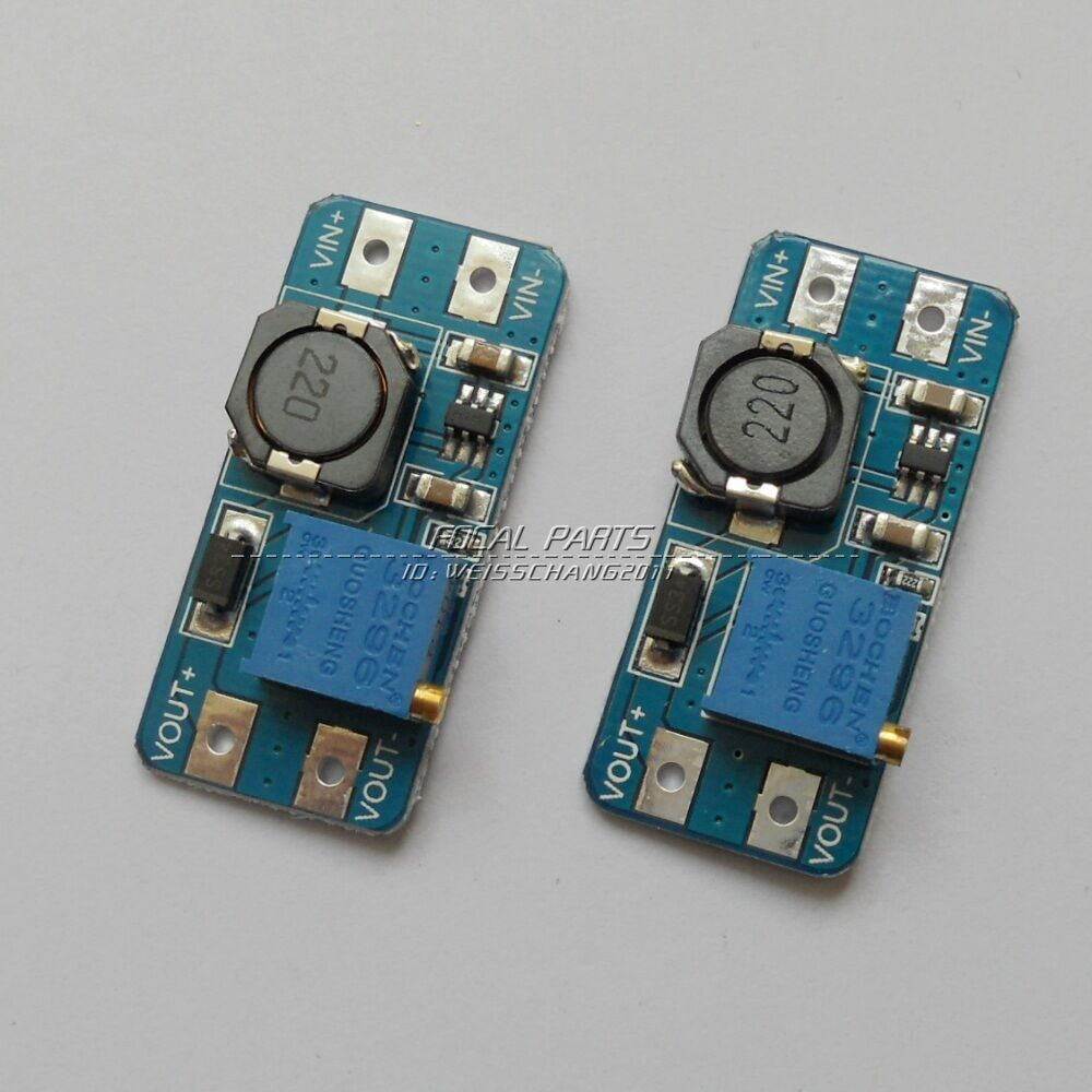 2pcs Dc 2a Adjustable Step Up Boost Power Supply Converter Module Modul Micro Usb Mt3608 To 2v 28v N108 1 Of 1free Shipping
