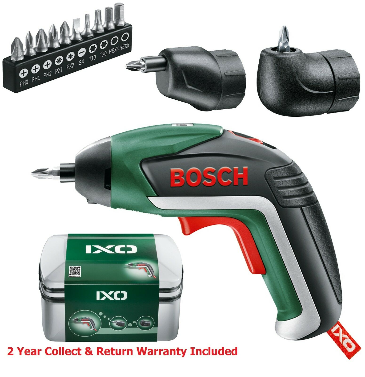 full set bosch ixo 5 lithium ion cordless screwdriver 06039a8072 3165140800051 39. Black Bedroom Furniture Sets. Home Design Ideas