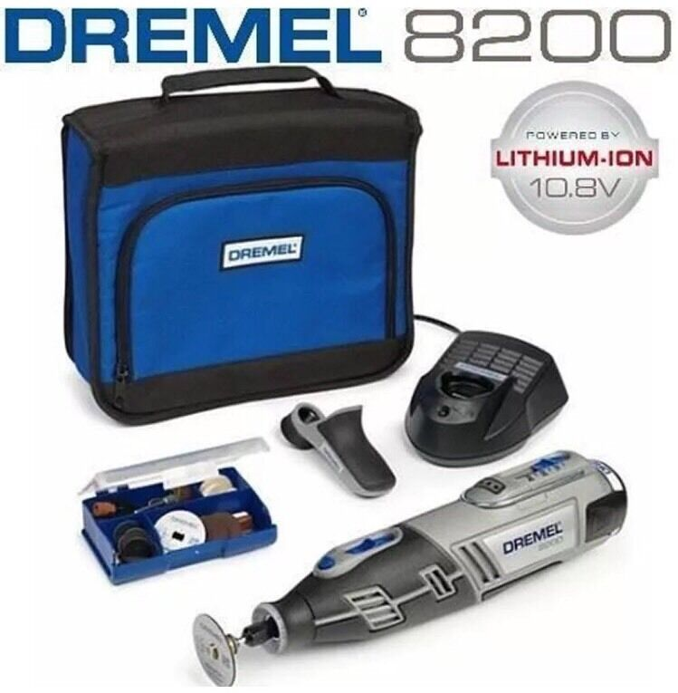 dremel 8200 10 8v cordless rotary tool plus 1 attachment 35 acc without box picclick uk. Black Bedroom Furniture Sets. Home Design Ideas