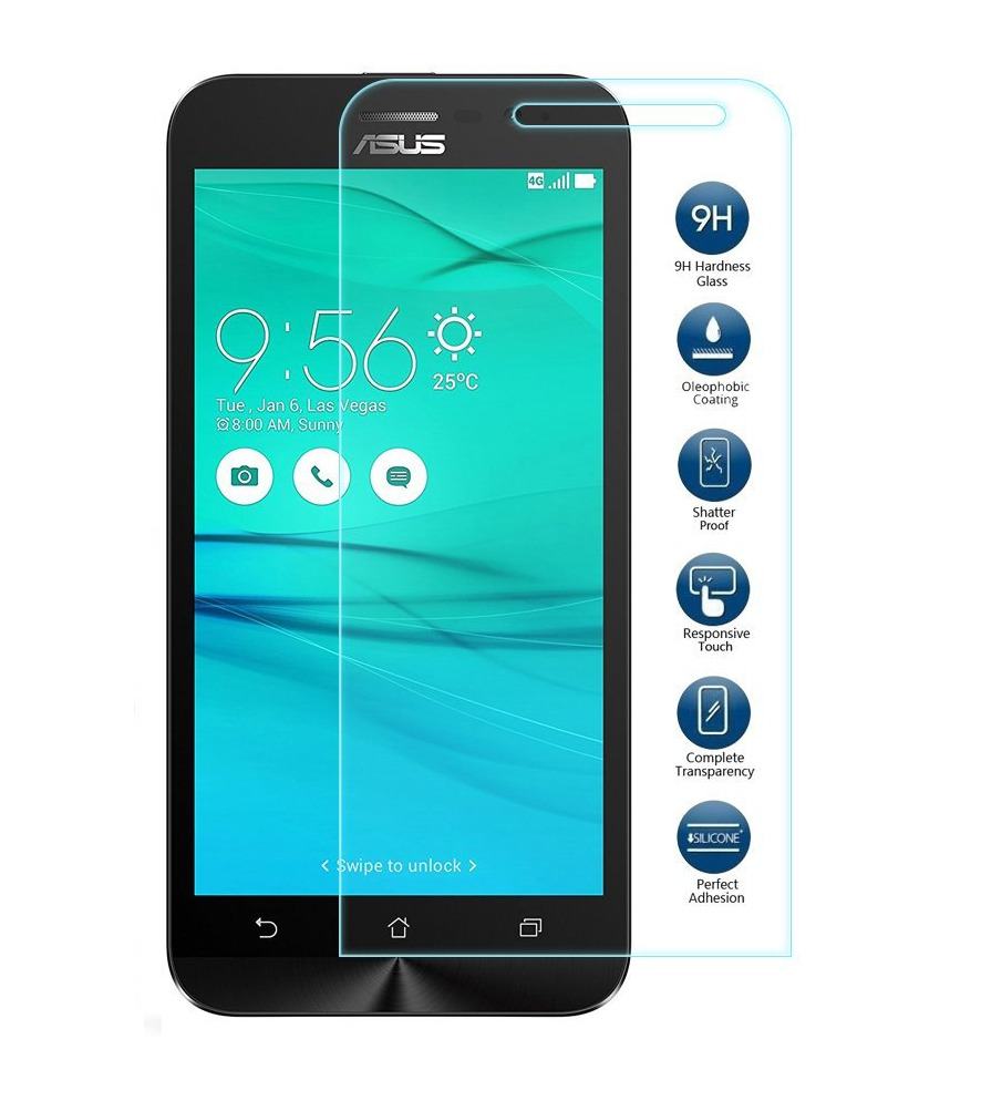 Tempered Glass Screen Protector For Asus Zenfone Go Zb500kl 275 Protection 2 55 1 Of 1free Shipping