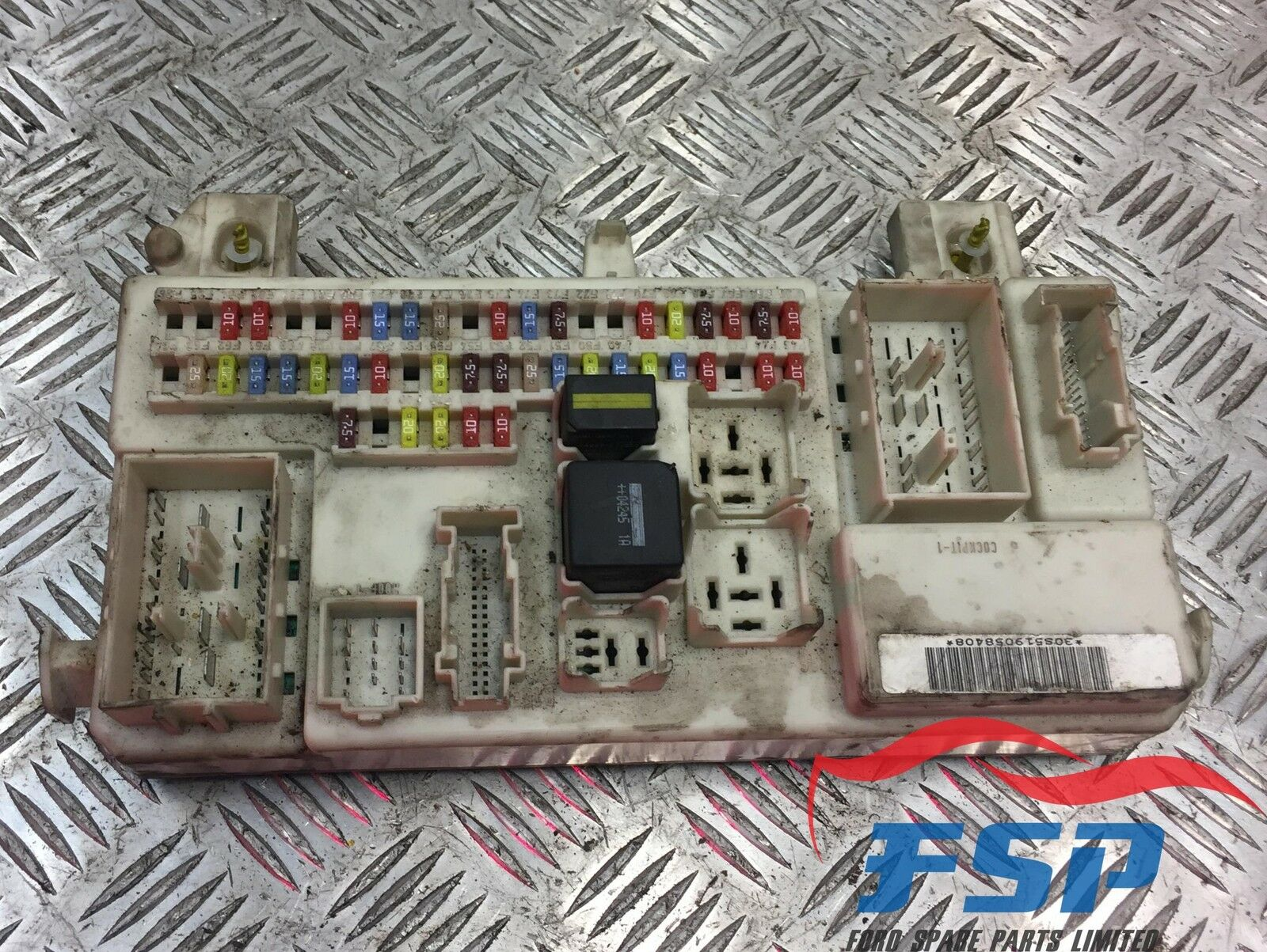 Ford Focus Mk2 C Max Mk1 18 Petrol Zetec 2003 2007 Fuse Box Body 1 Of 2only Available See More