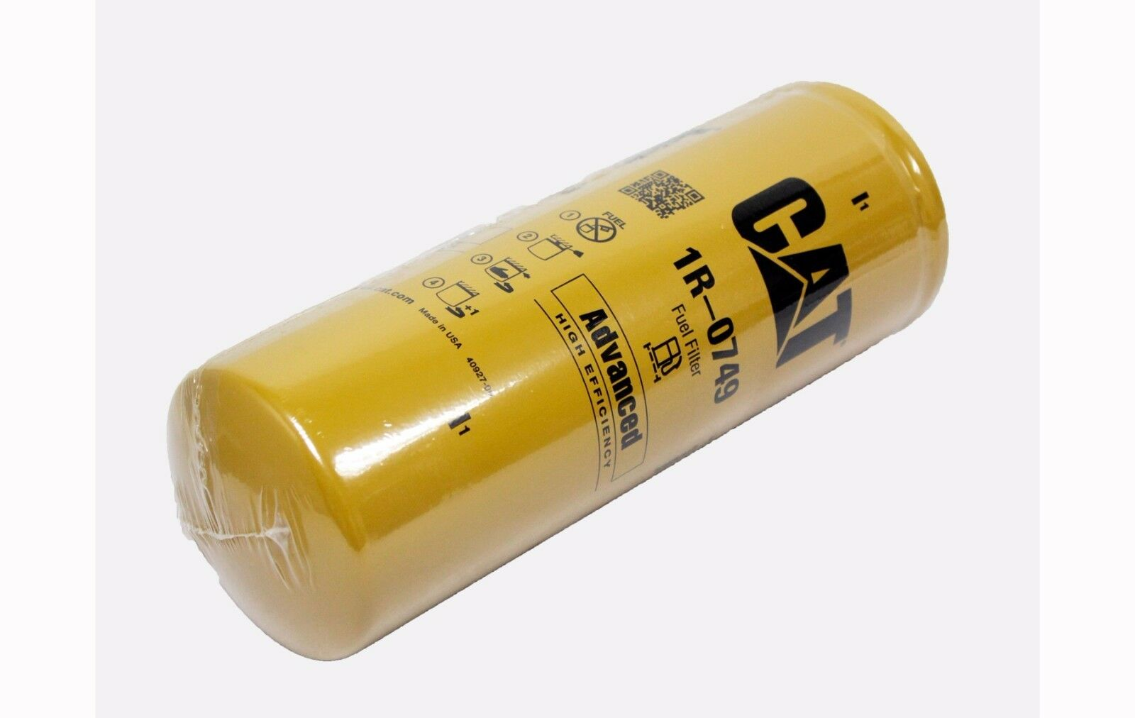 Caterpillar 1r0749 Engine Fuel Filter 3406 C15 Genuine Oem Advanced Efficiency 1 Of 1free Shipping