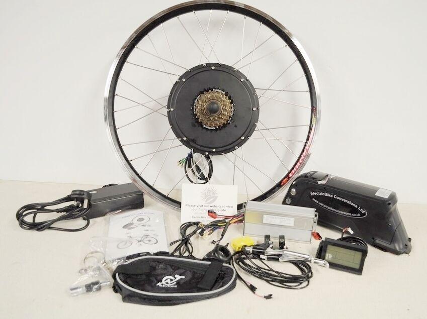 1000w Electric E Bike Conversion Kit With Battery 48v
