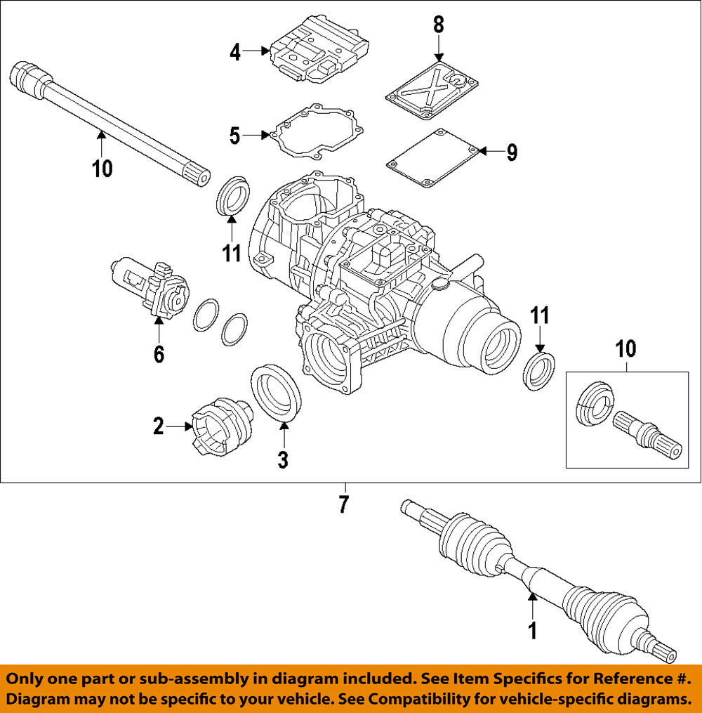 Chrysler Oem Rear Axle Output Shaft Seal 68227807ab 799 Picclick 2001 Ford Escape End Diagram 1 Of 1free Shipping