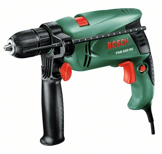 new bosch psb 500 re corded hammer drill 0603127070 3165140512305 picclick uk. Black Bedroom Furniture Sets. Home Design Ideas
