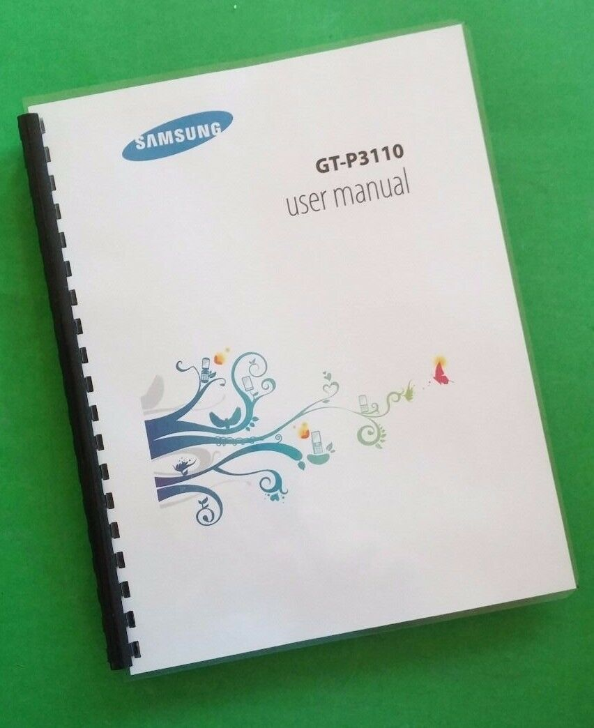 Samsung Galaxy Tab 2 Manual, User Guide (GT-P3110) 123 Pages Laser 1 of  1Only 2 available See More