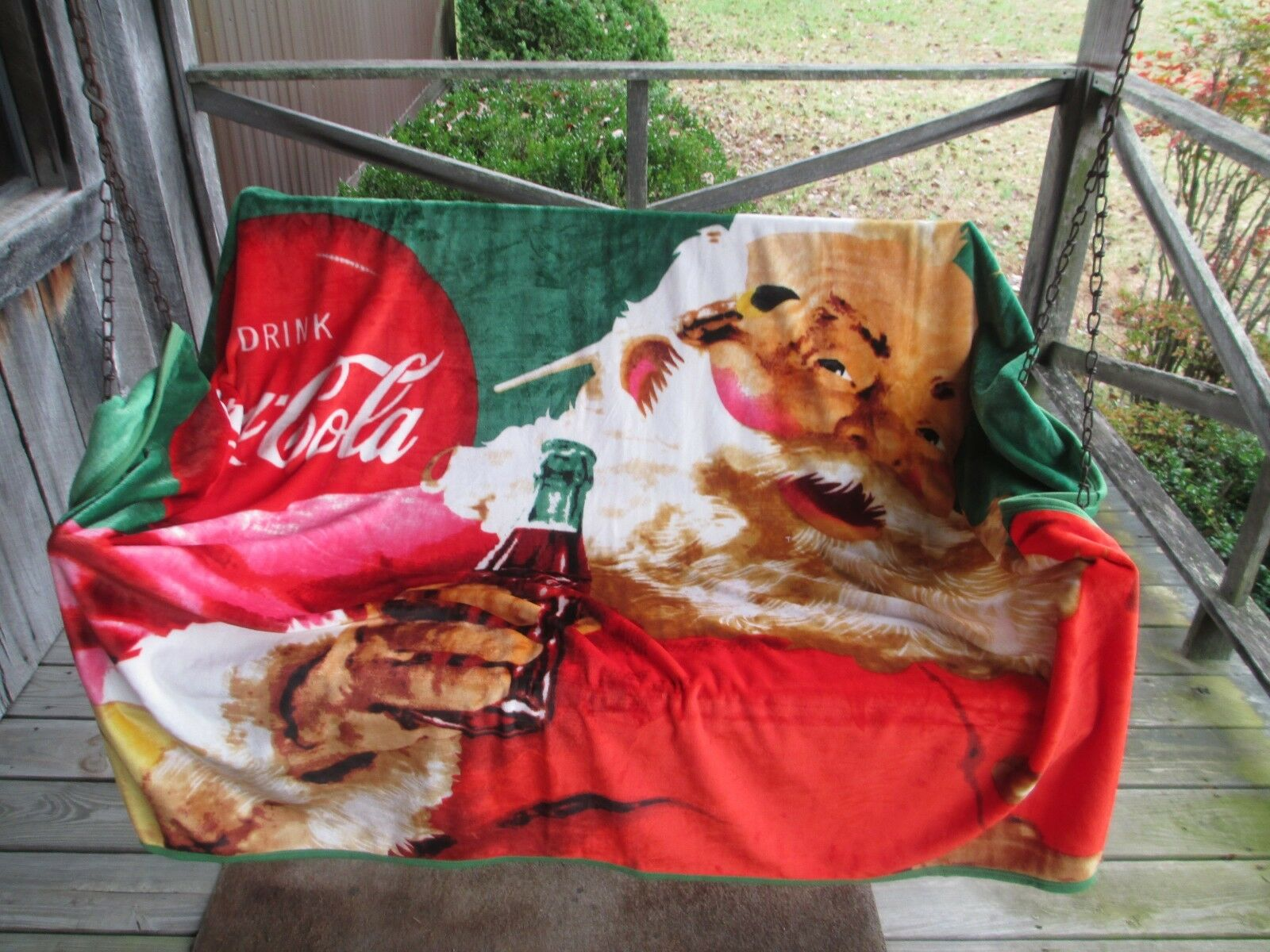 Coca Cola Supersoft Fleece Blanket Throw 55 X 70 1 Of 4 See More