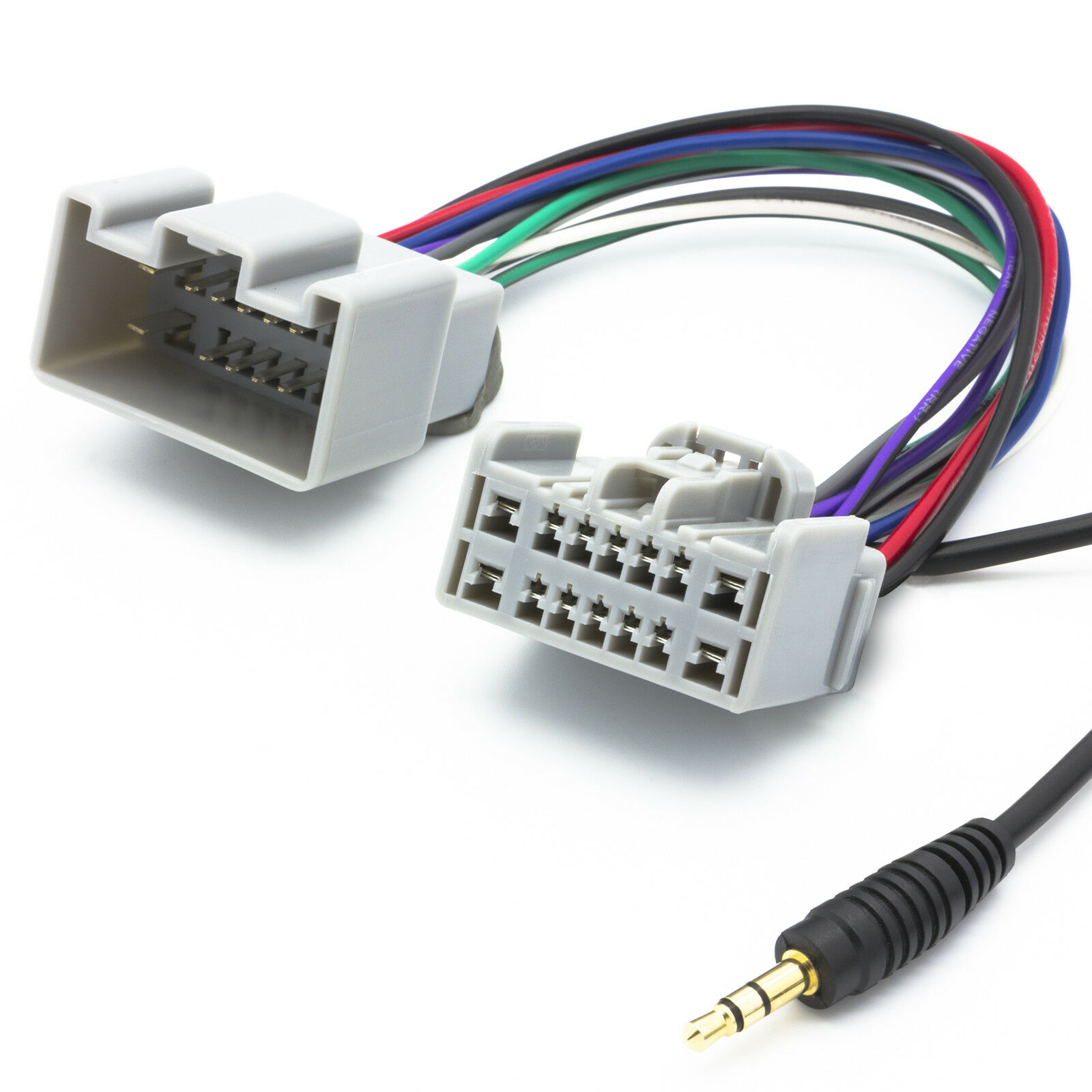 Audio Aux Line In Adapter Kabel Radio 35mm Klinken Stecker Fr Wiring Harness Sony Mex 5di 1 Sur 2 Voir Plus