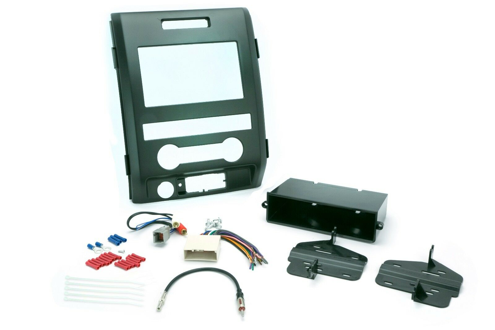 Ford Dash Kit For F 150 Single Din Radio Replace Install Wire Harness 1 Of 1only 2 Available See More