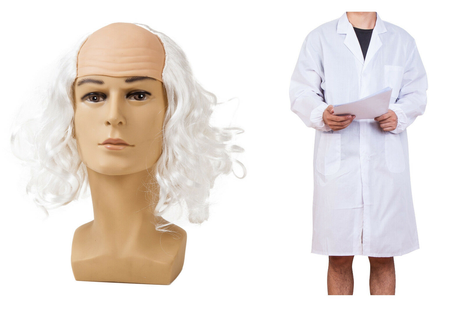halloween costume mad scientist outfit fancy dress crazy old