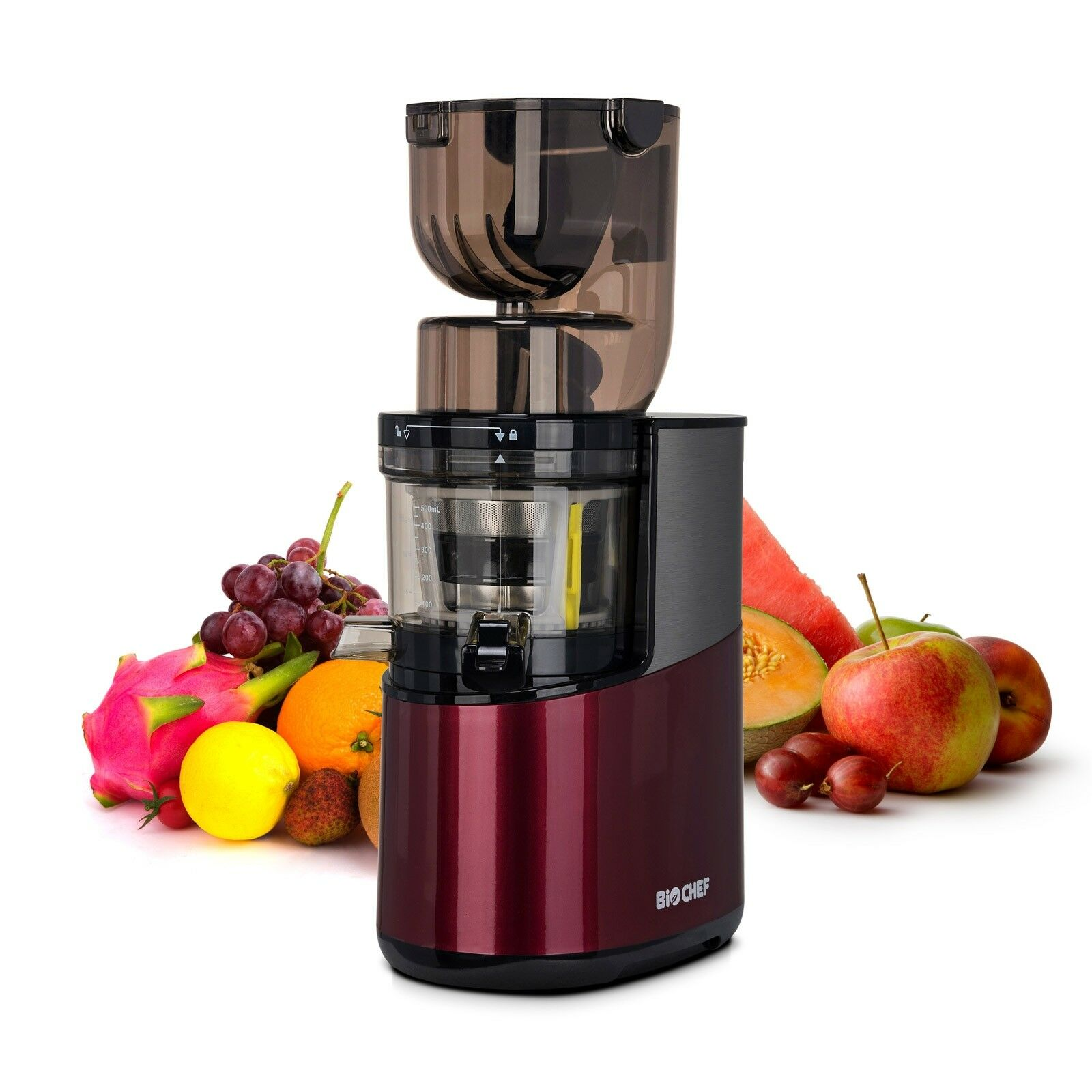 Biochef Slow Juicer Big W : BIOCHEF 400W Slow / Masticating WHOLE Juicer - Red - ?360.00 PicClick UK