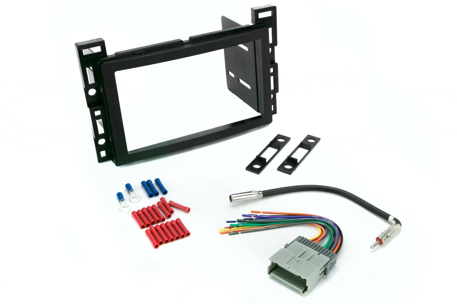 Scosche Gm1599b Double Din Dash Kit For Radio Stereo Install W Wire Wiring Harness Ford 1 Of See More