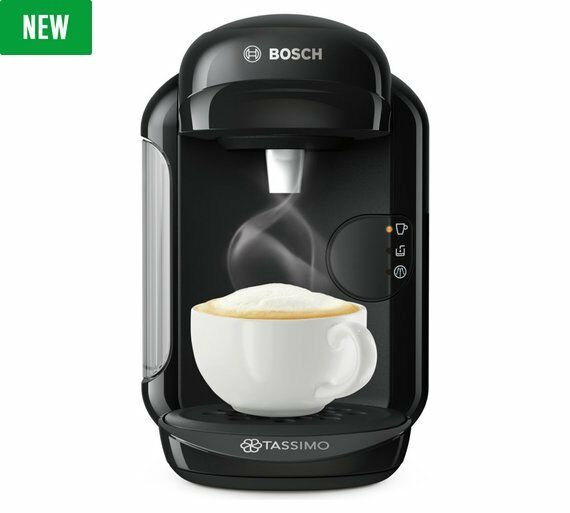 tassimo by bosch vivy 2 t14 coffee machine black picclick uk. Black Bedroom Furniture Sets. Home Design Ideas
