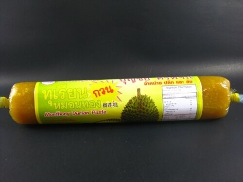100g Thai Monthong Durian Paste The Tropical Exotic King of Fruit Yummy Snack