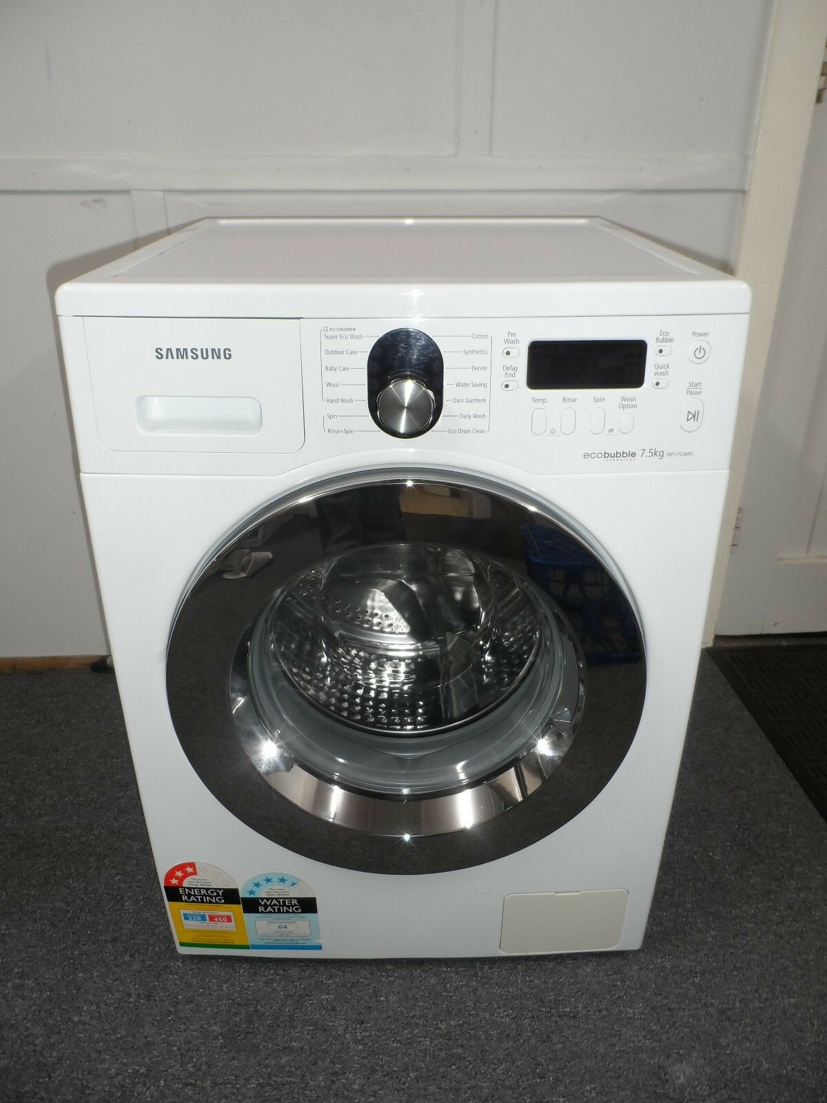 machine laver samsung eco bubble 9 kg sunny bubble washer with eco bubble 6 kg samsung africa. Black Bedroom Furniture Sets. Home Design Ideas