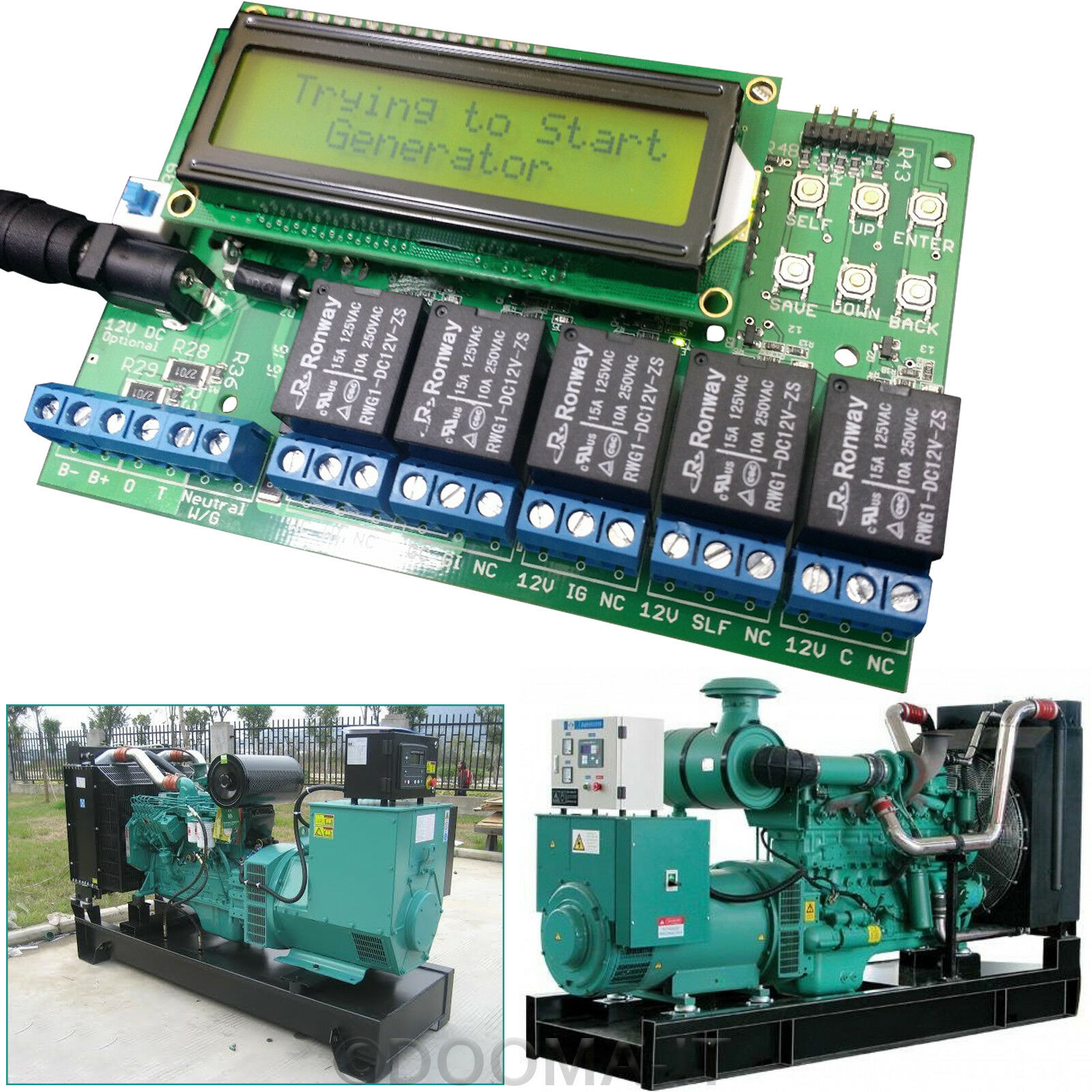 Automatic Sitemap Generator: AMF ATS Generator Sets Series Controller Automatic