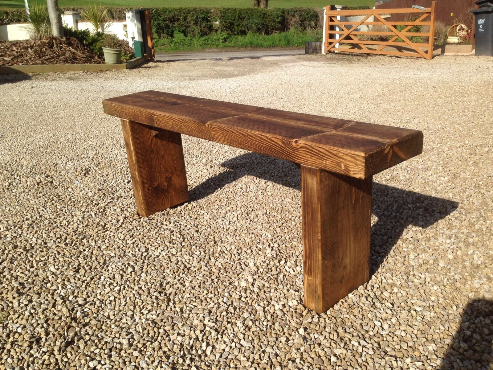 Chunky Garden Bench Please Read The Item Description Eur 22 53 Picclick It