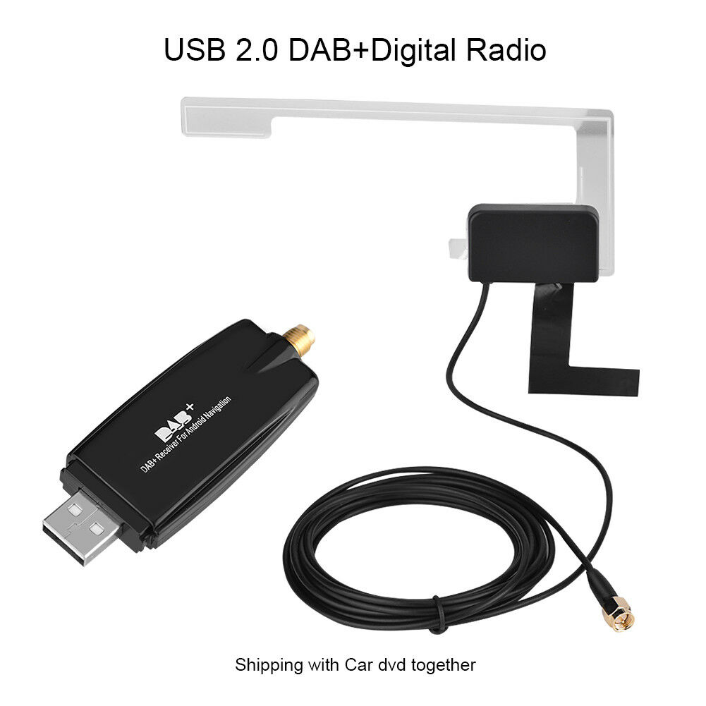 usb2 0 car digital radio receiver dab dab radio tuner. Black Bedroom Furniture Sets. Home Design Ideas
