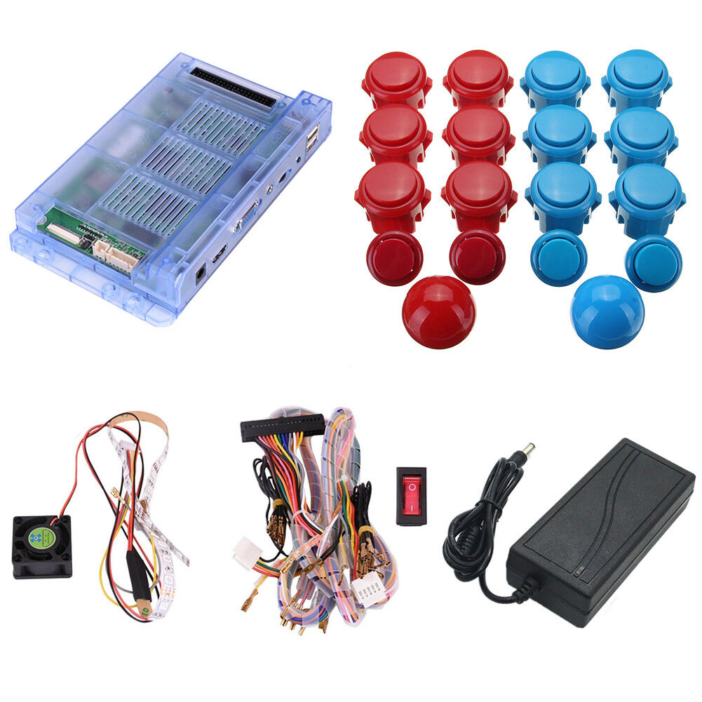 999 Games Pandoras Box Arcade Machine Console 2 Player Diy Kit W Sanwa Joystick Wiring Diagram 1 Of 11only 5 Available