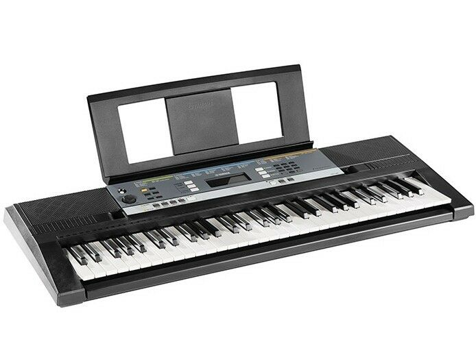 Digital keyboard with yamaha education suite lcd display for Yamaha learning keyboard