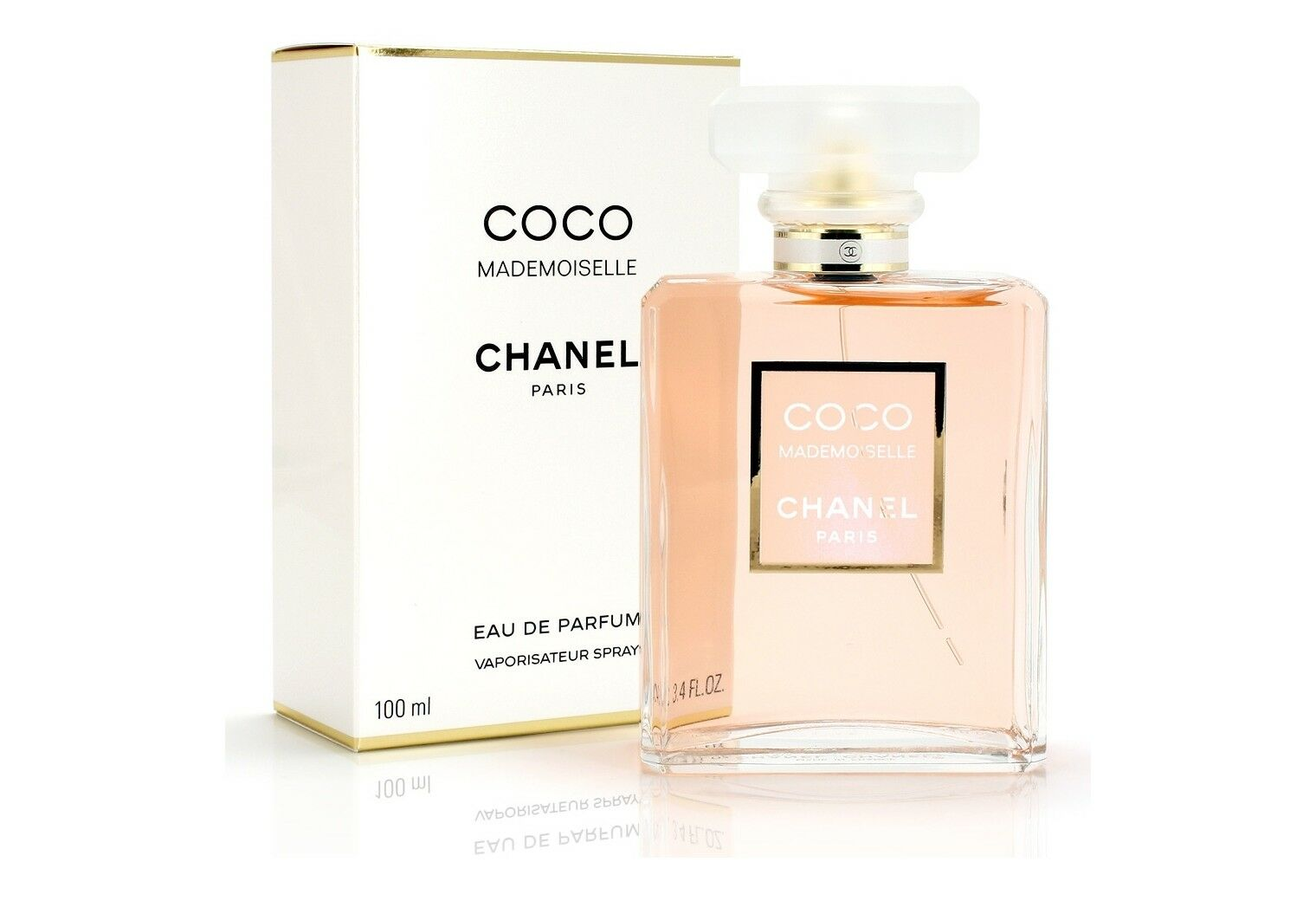 coco mademoiselle von chanel eau de perfume spray 100ml f r damen eur 84 90 picclick de. Black Bedroom Furniture Sets. Home Design Ideas