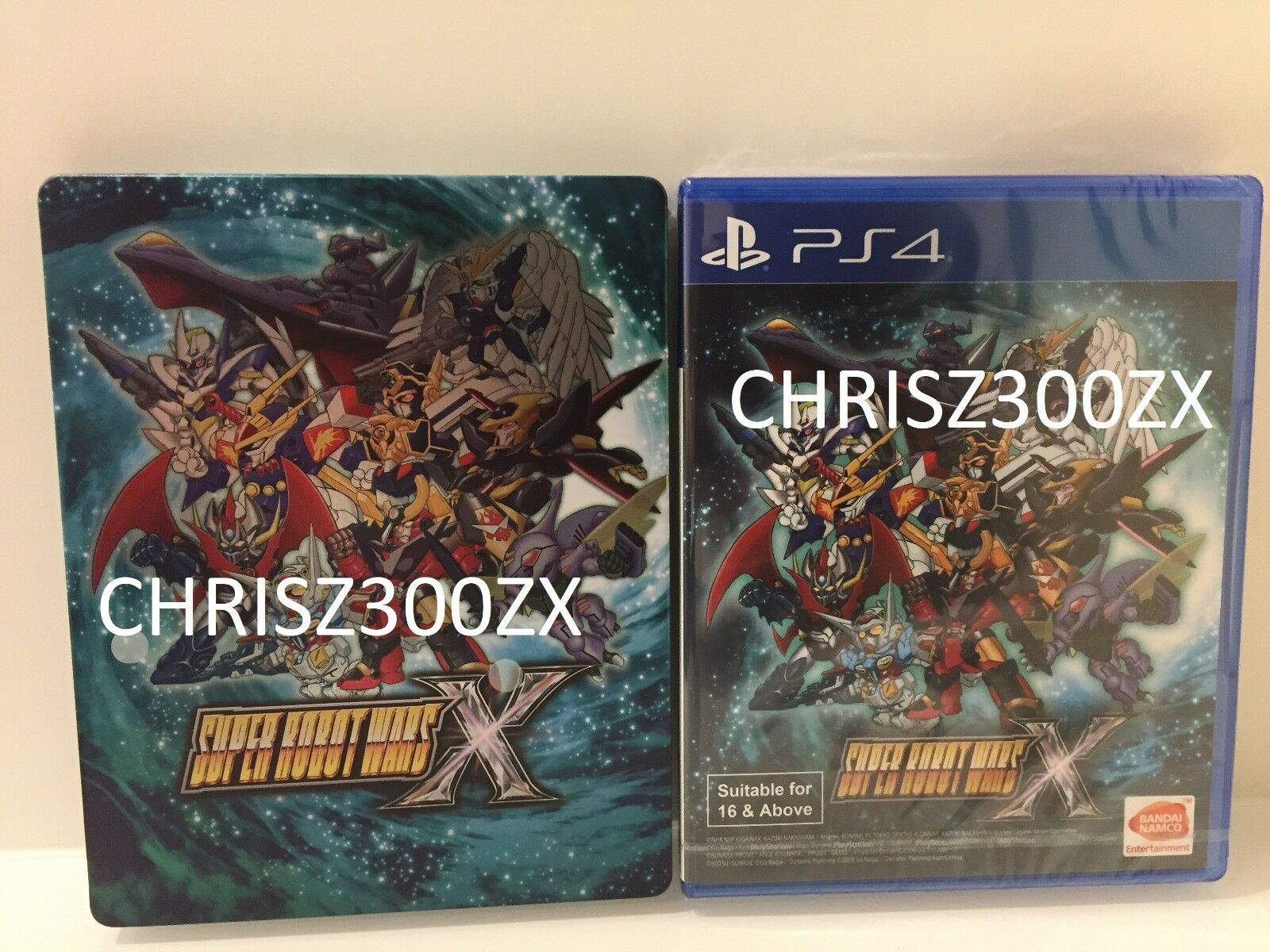 Super Robot Wars X English Subtitles Ps4 Playstation 4 W Steelbook Nba 2k19 20th Anniversary Edition Region 3 1 Of 9only Available