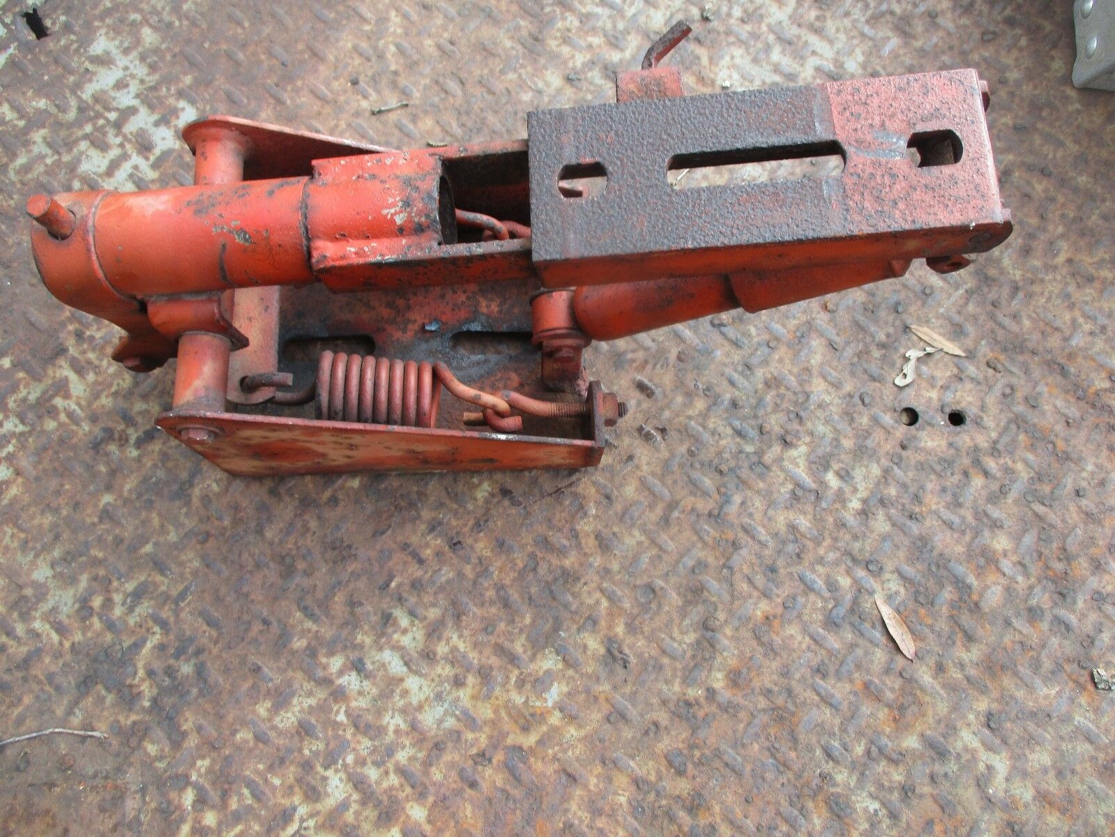 1951 Massey Harris Pony Gas Farm Tractor Seat Frame Free Shiping Zenith Carburetor Ford 2000 1 Of 5only Available