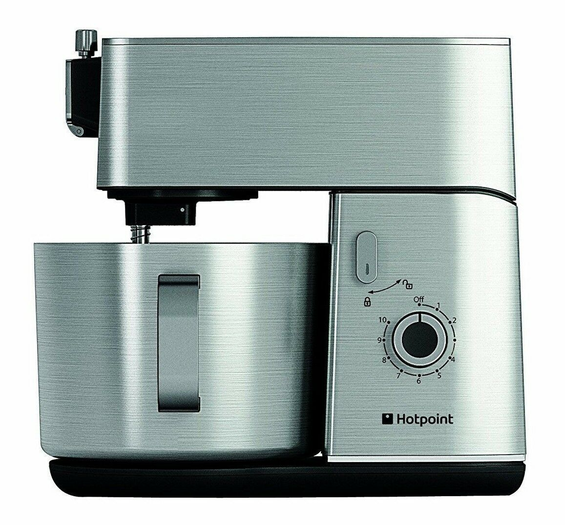 HOTPOINT STAND MIXER Multi-Functional Kitchen Machine in Silver ...