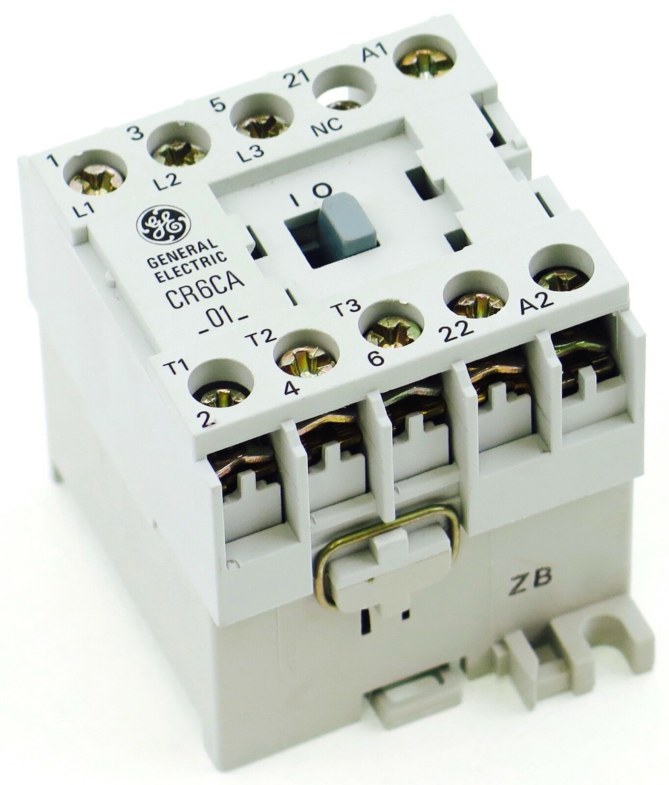 New Ge Miniature Din Rail Magnetic Contactor Cr6cab3b 220vac Coil Wiring 460v 3 Phase 1 Of 2 See More