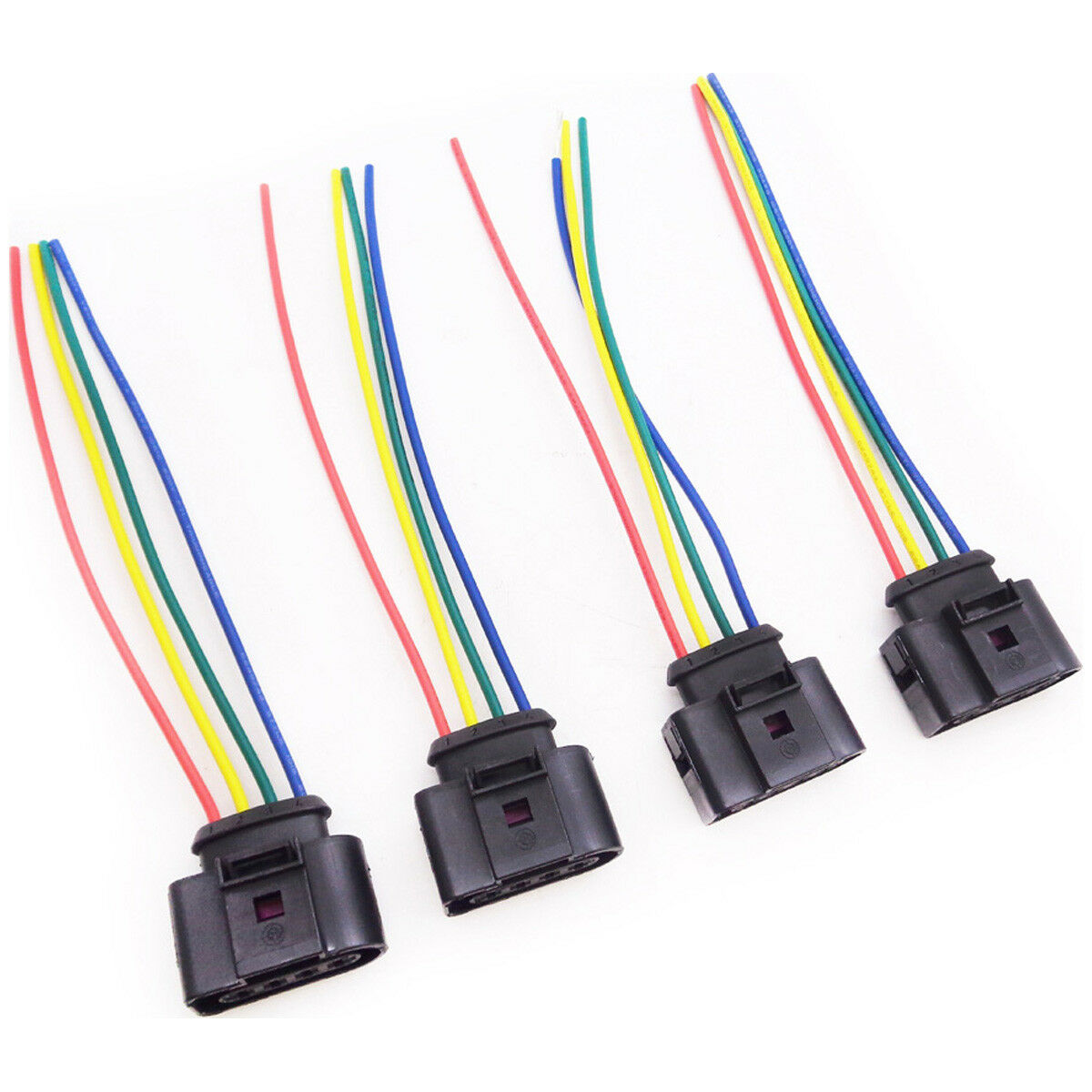 4x Ignition Coil Wiring Harness For Vw New Beetle Passat Polo Loom 1 Sur Voir Plus