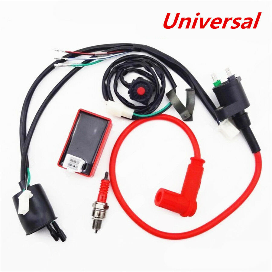 Wiring Harness Switch Ignition Coil CDI Kit for 110 125 140 150cc Motorcycle  ATV 1 of 11FREE Shipping ...