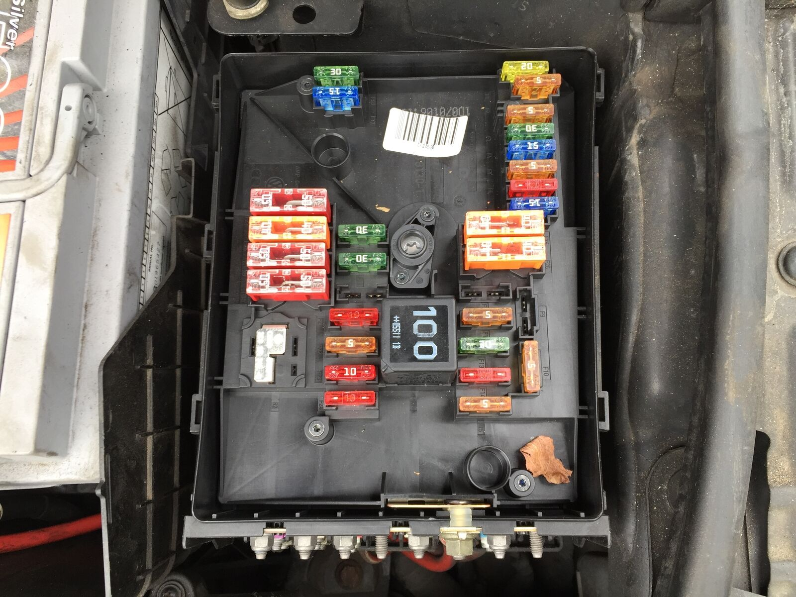 audi a3 2005 2008 2 0 tdi fuse box in engine bay 25 00 rh picclick co uk 07 audi a3 fuse box diagram 07 audi a3 fuse box diagram