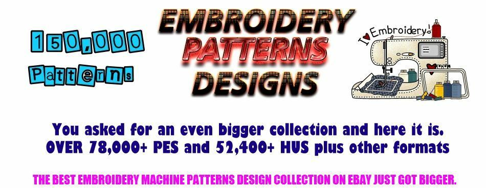 150000 Embroidery Machine Patterns Designs In S S Format