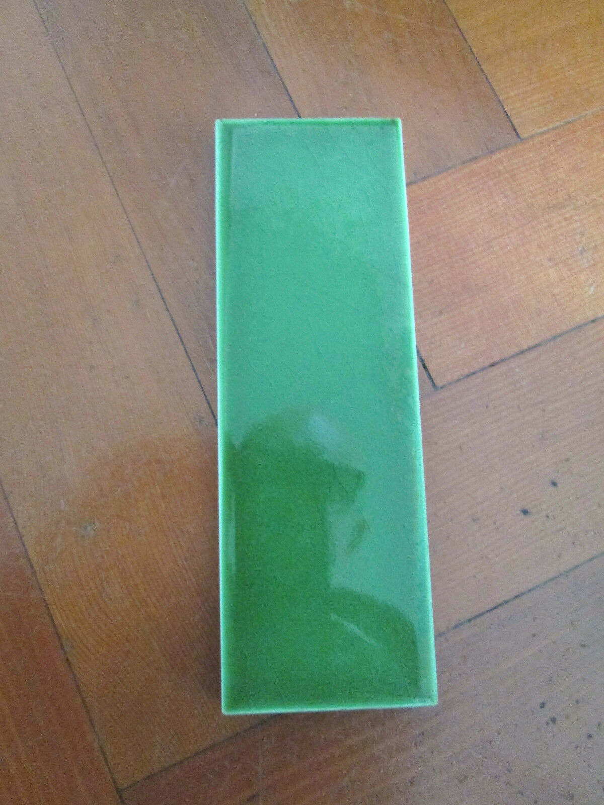 1930S FIREPLACE GREEN TILE - $13.12 | PicClick