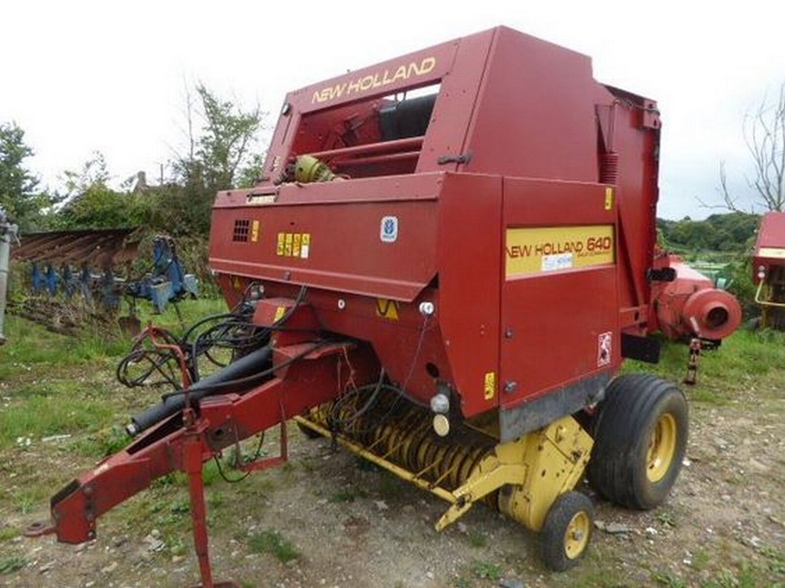 New Holland 640 - 658 & 5850 - 5980 Round Baler - Service / Repair Manual 1  of 8FREE Shipping ...