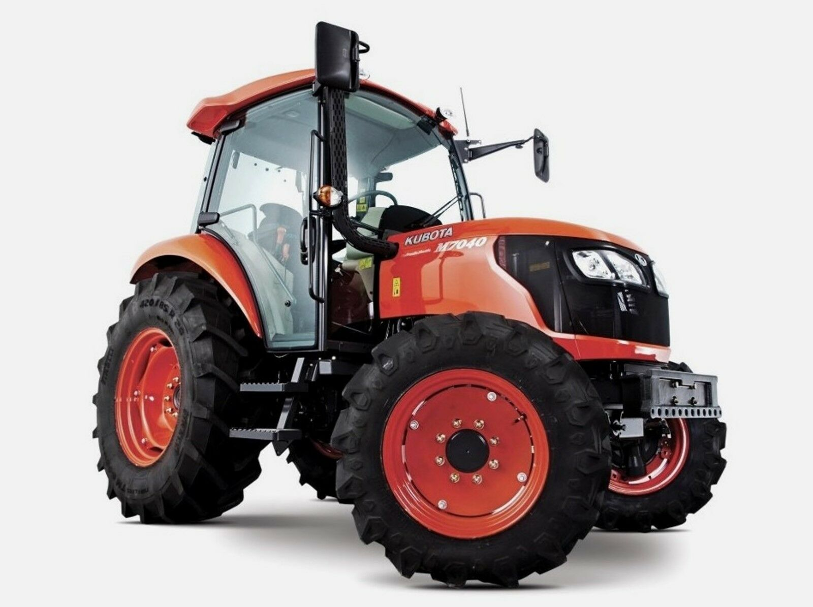 Kubota M7040 Wiring Diagram Tractors Workshop Manual Pdf Cd 750 Picclick Uk 1 Of 4free Shipping