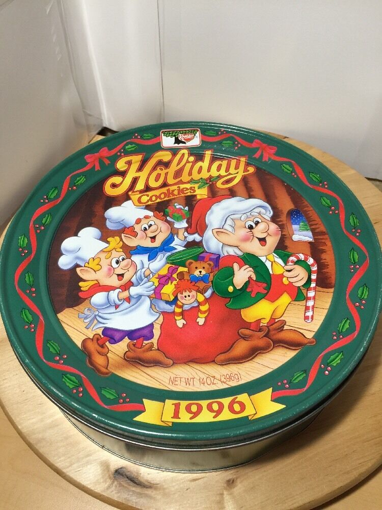 1996 KEEBLER HOLIDAY Cookies Tin - $4.79 | PicClick