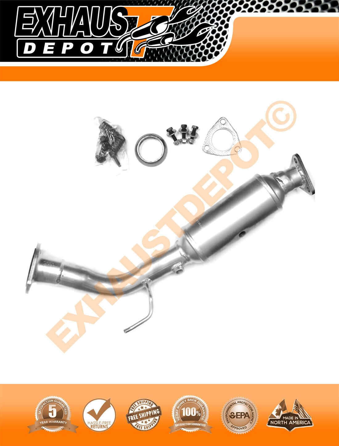 2002-2006 Acura Rsx 2.0L Base Model Direct-Fit Catalytic Converter 1 of  1Only 5 available ...