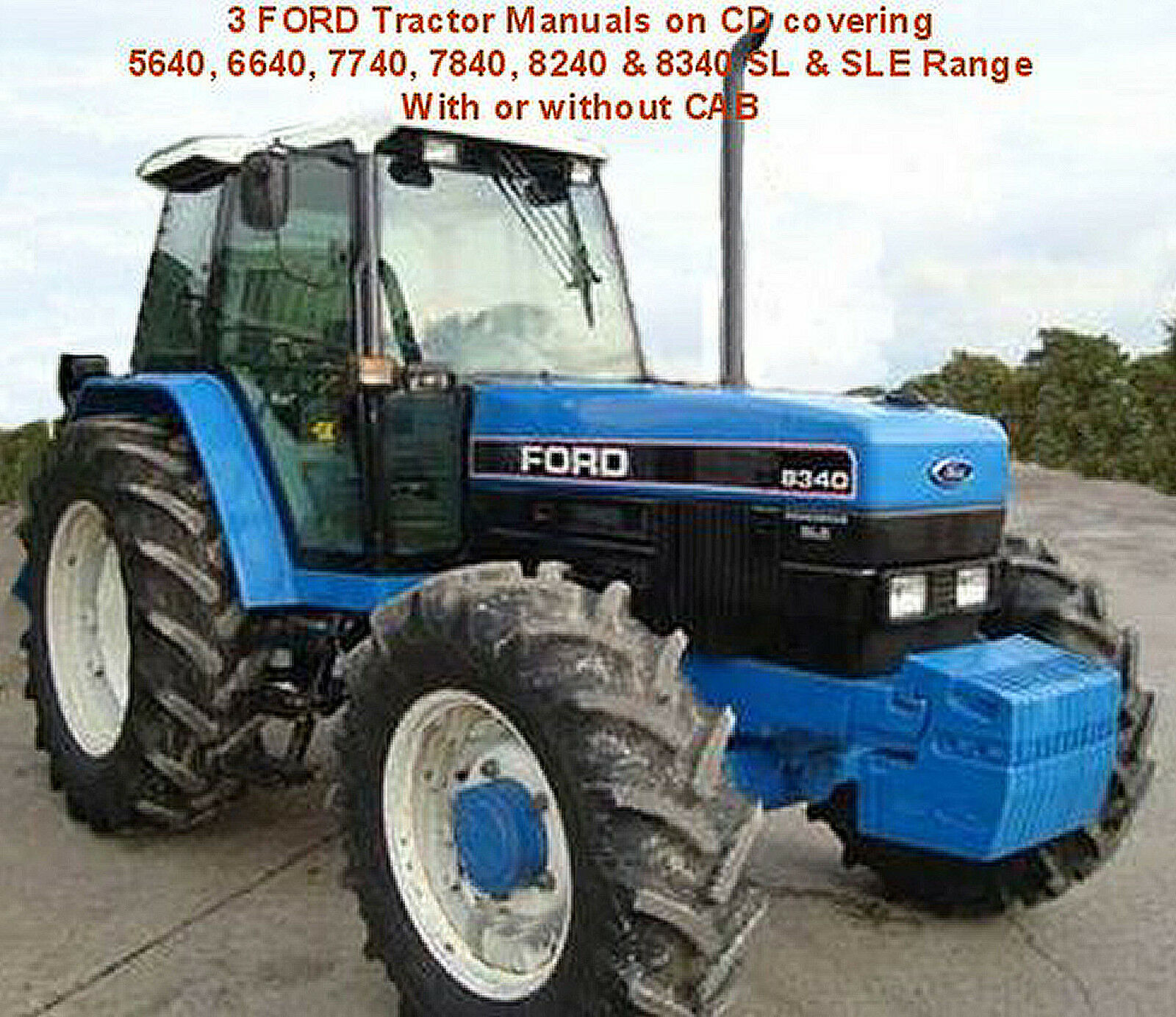 Wiring Diagram For Ford 5640 Tractor Detailed Diagrams 3930 3 6640 7740 7840 8240 8340 Manuals Cd Workshop