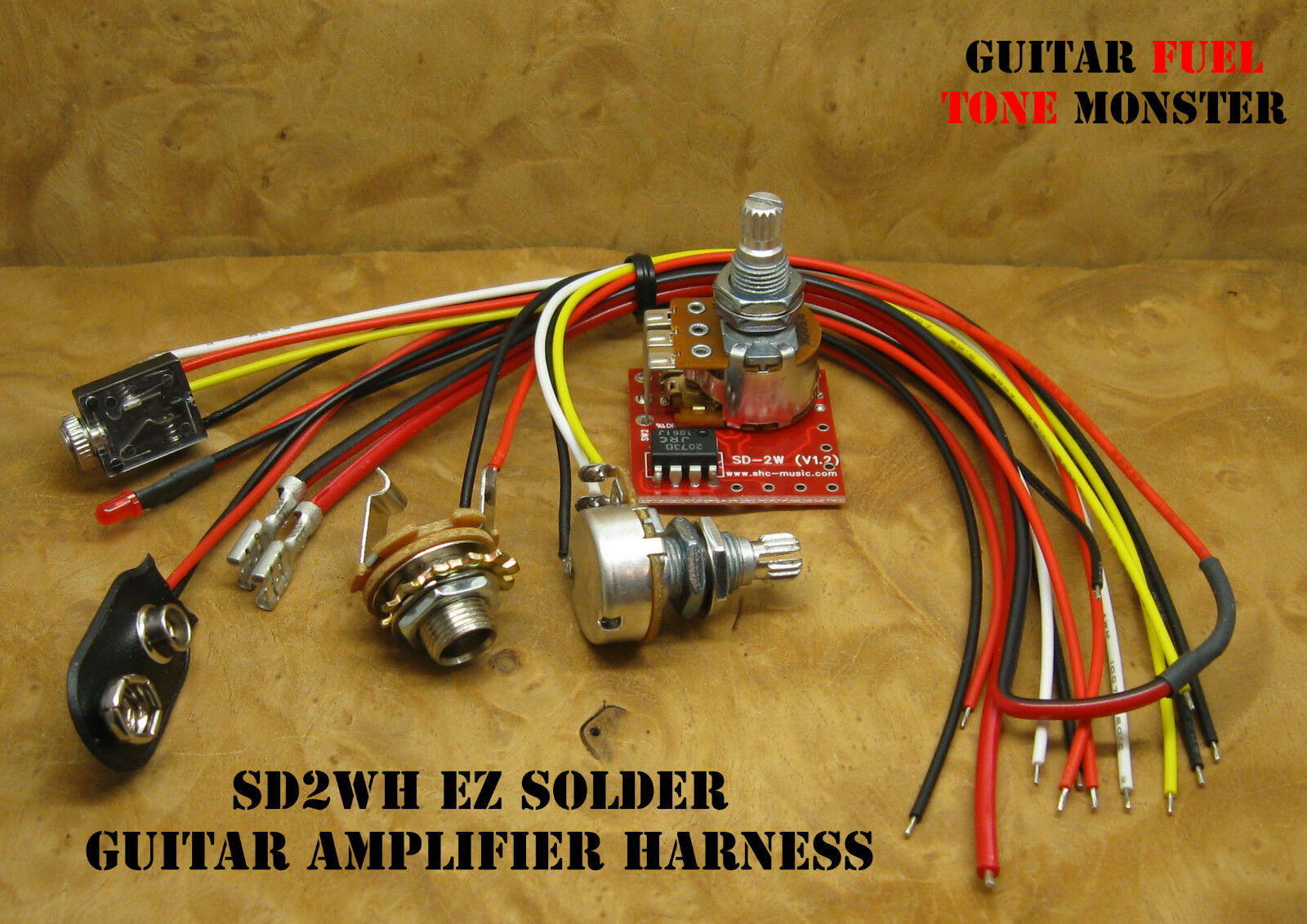 Tone Monster Sd2wc Ez Solder Guitar Amp Amplifier Harness 2w Volume How To Build Mini Box 1 Of See More