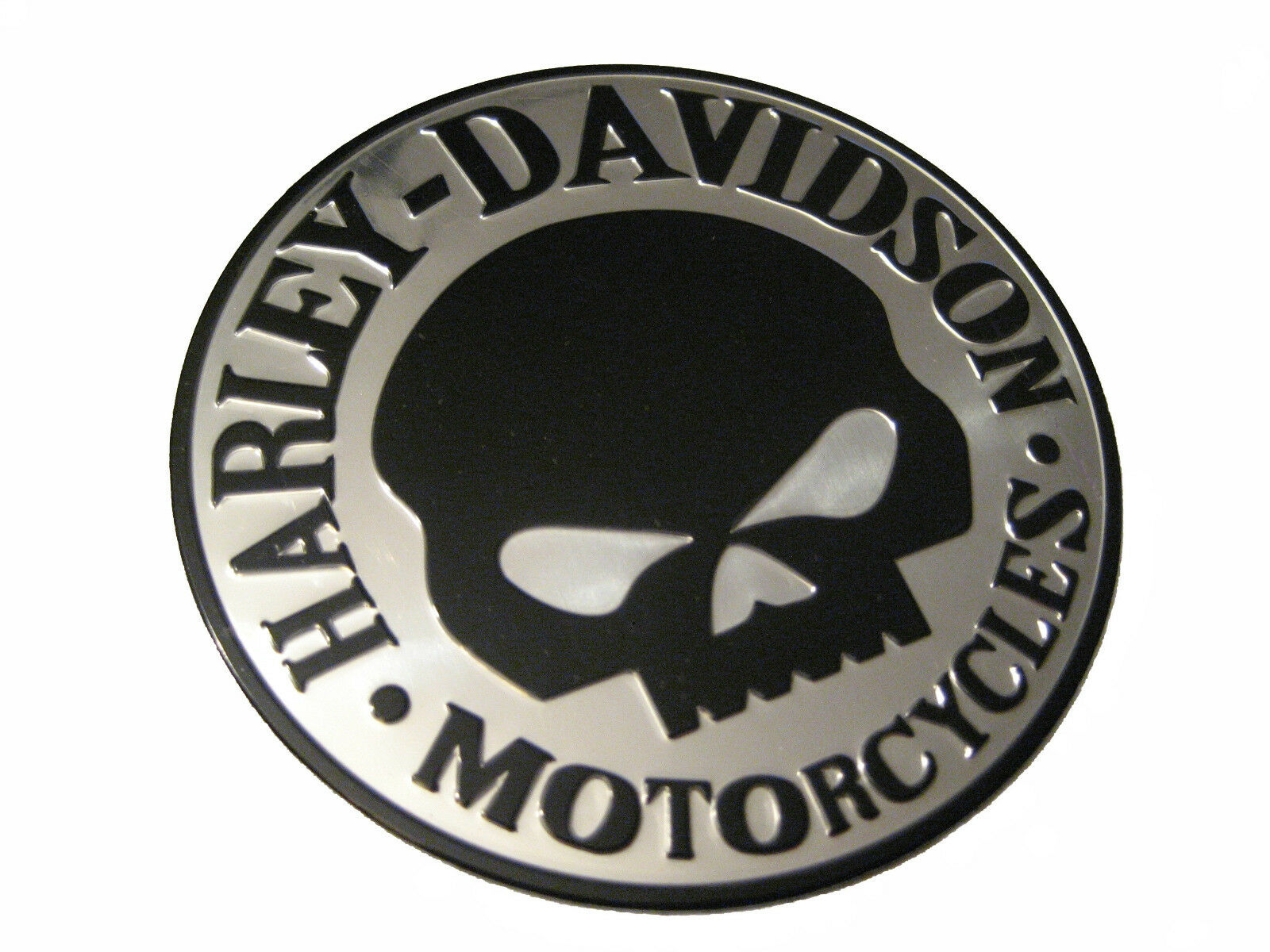 aufkleber sticker 3d emblem aluminium harley davidson. Black Bedroom Furniture Sets. Home Design Ideas