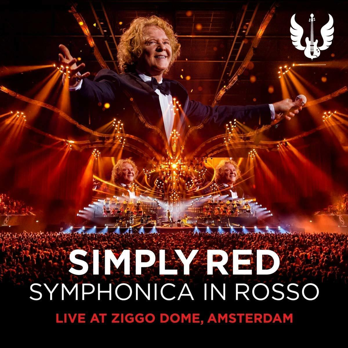 simply red symphonica in rosso cd dvd 2018. Black Bedroom Furniture Sets. Home Design Ideas
