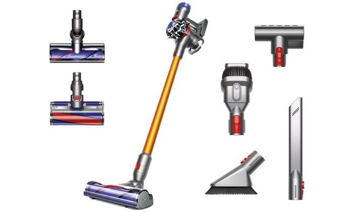 dyson v8 absolute cordless handheld vacuum cleaner 2 year guarantee new eur 340 91. Black Bedroom Furniture Sets. Home Design Ideas