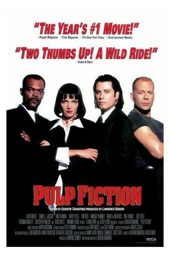 PULP FICTION MOVIE POSTER - A WILD RIDE - NEW 24X36