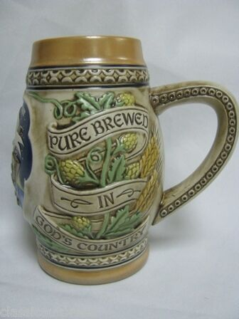 1983 Heileman S Old Style Limited Edition Beer Stein