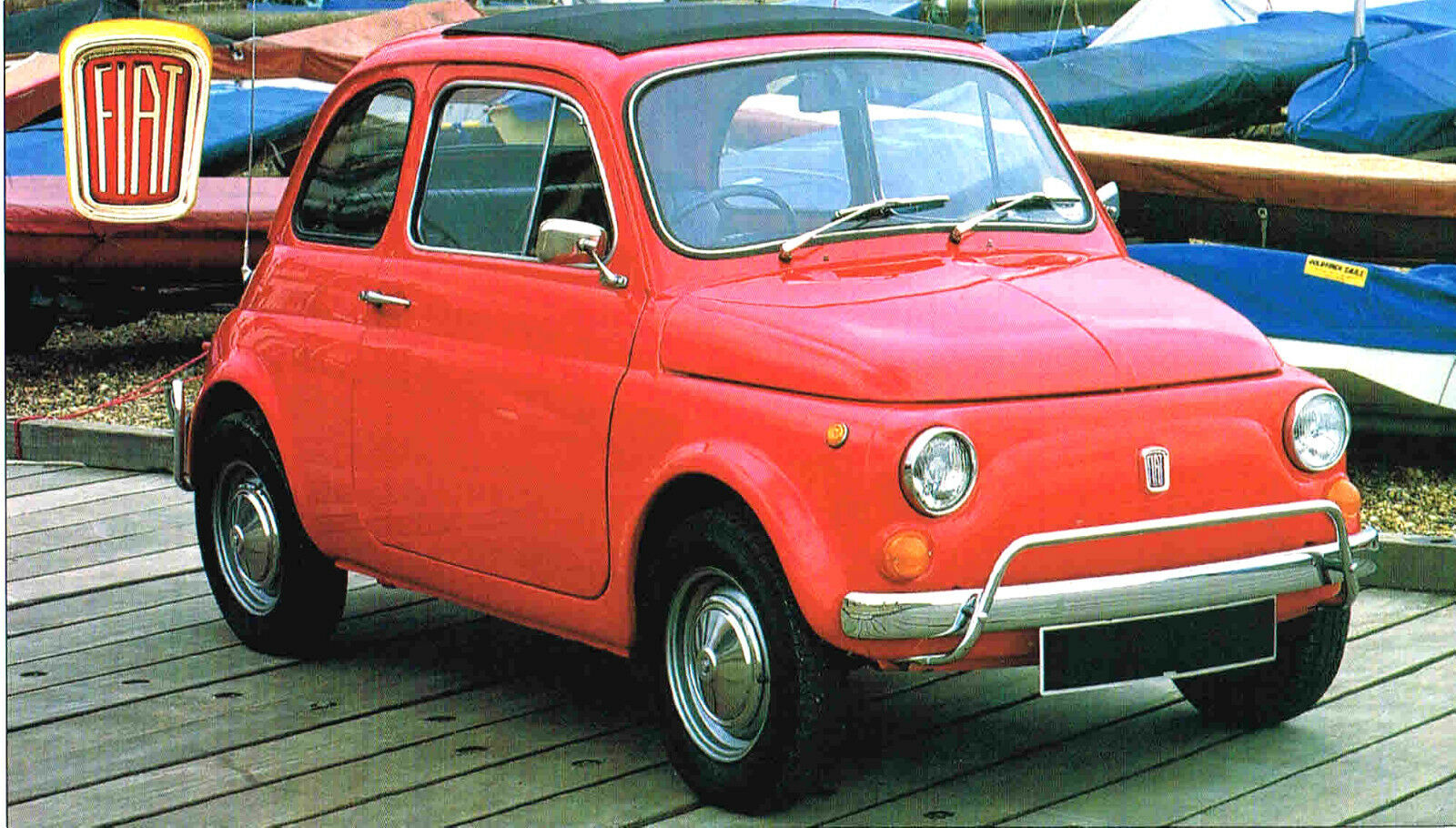 Fiat 500 L 500l Spec Sheet Brochure Catalog19711972 1299 1954 For Sale 1 Of 4only 2 Available